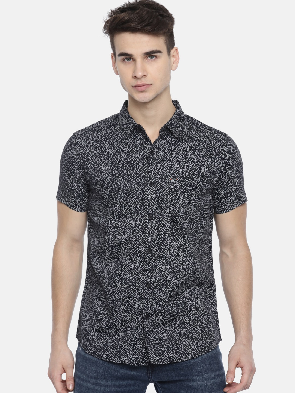 bd831c49c17 Men Black Shirts - Buy Men Black Shirts online in India