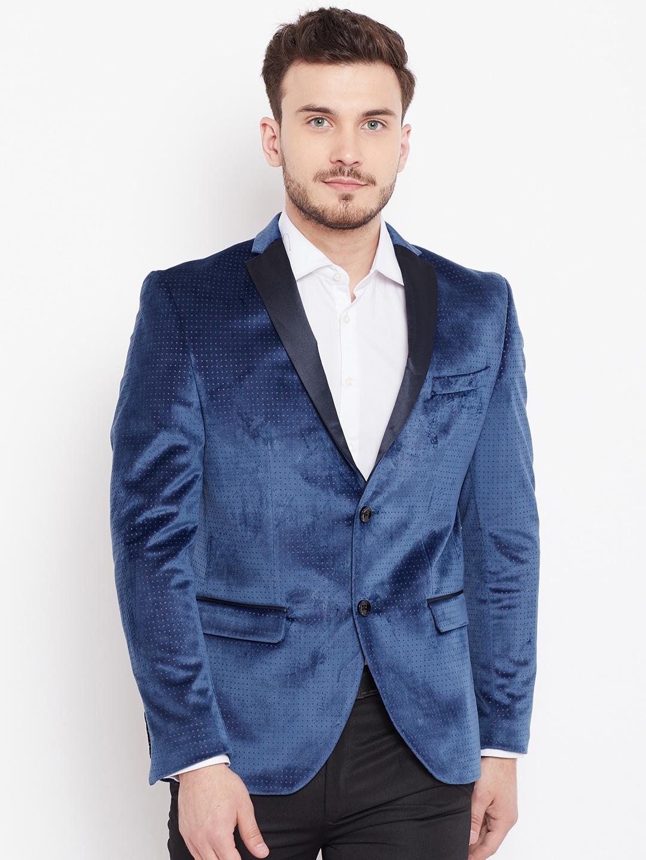 4b15db0fd Black Dress Pants With Blue Blazer | Saddha
