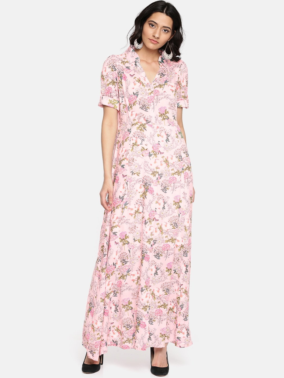 35c4bcf1e12 Long Dresses - Buy Maxi Dresses for Women Online in India - Upto 70% OFF