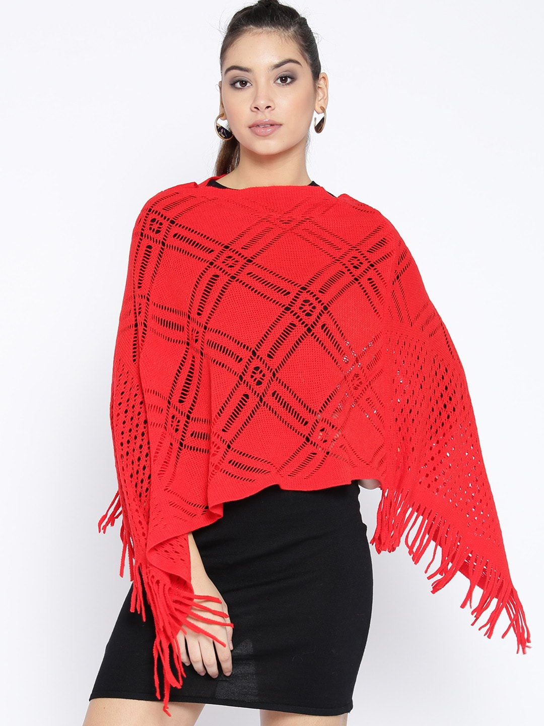 f7995fe627 Poncho Sweaters - Buy Poncho Sweaters online in India