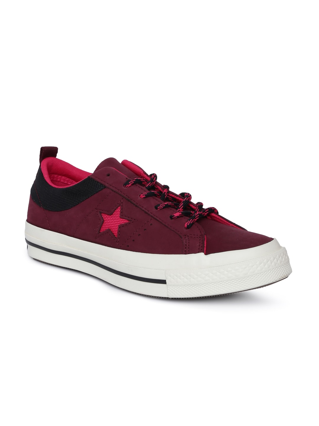 ebce87f7116934 Burgundy Casual Shoes - Buy Burgundy Casual Shoes online in India