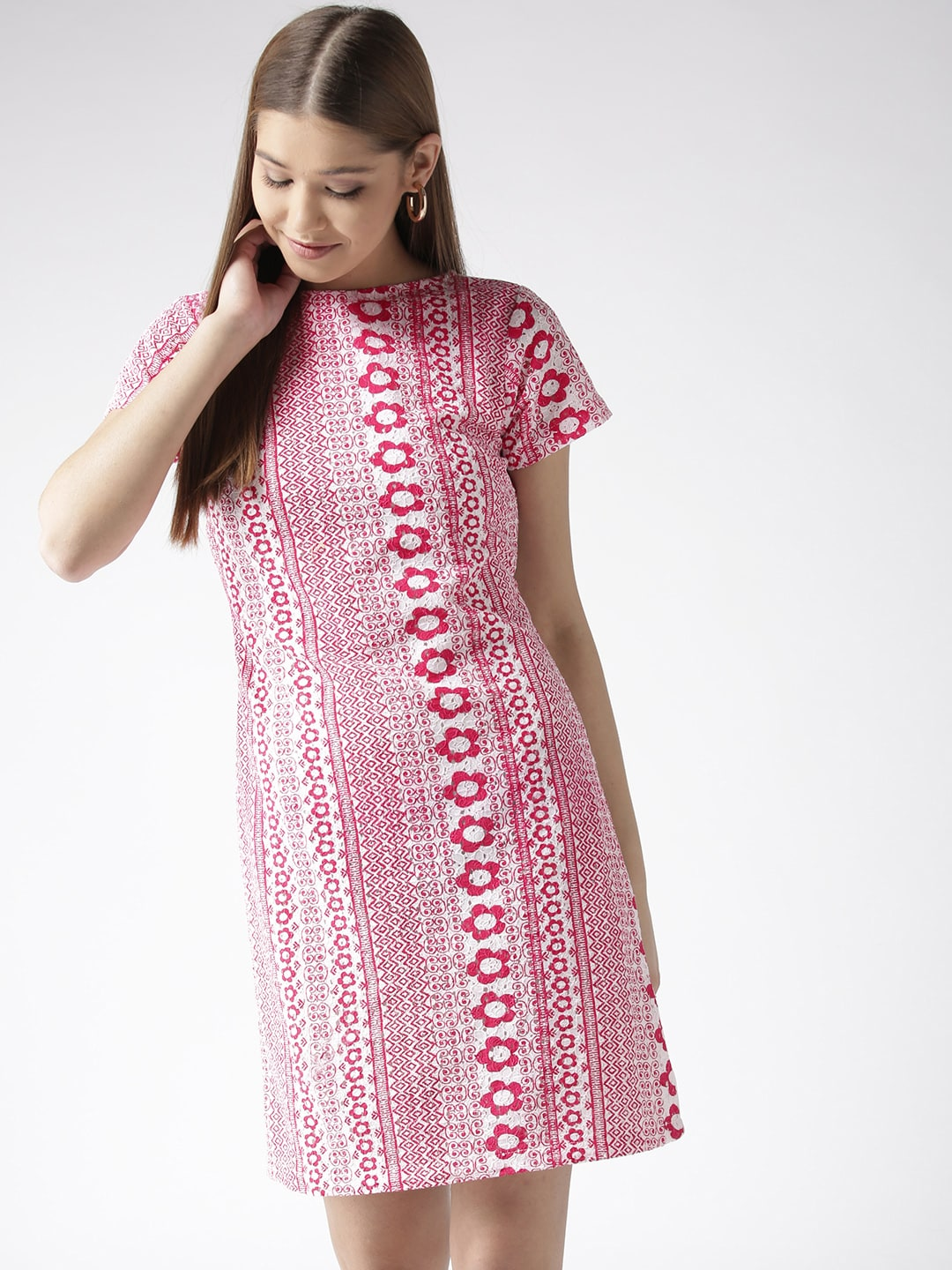 aa482d438714 Pink Dresses Women Tunics - Buy Pink Dresses Women Tunics online in India
