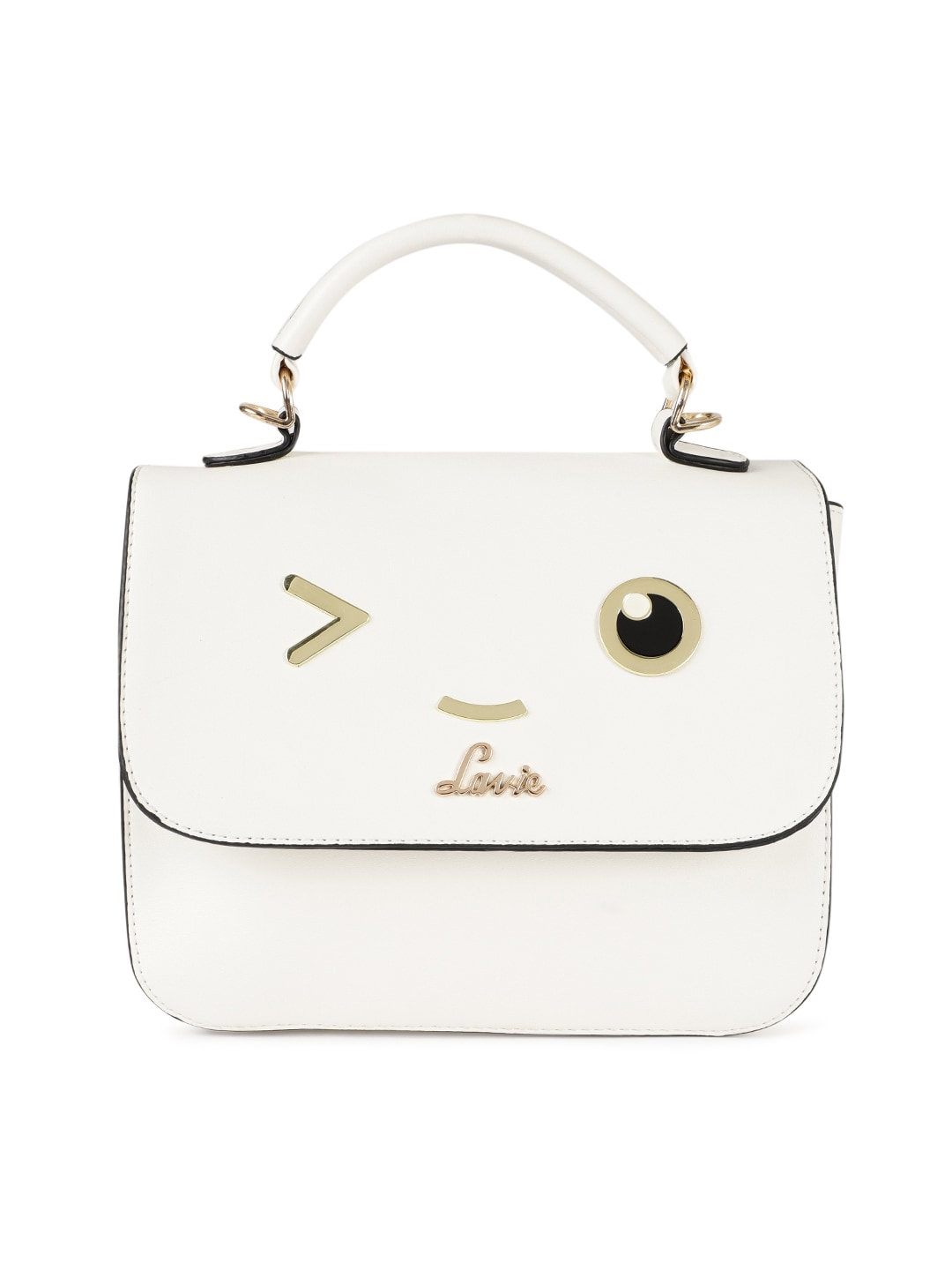 a6165f53c58 Lavie White Solid Satchel