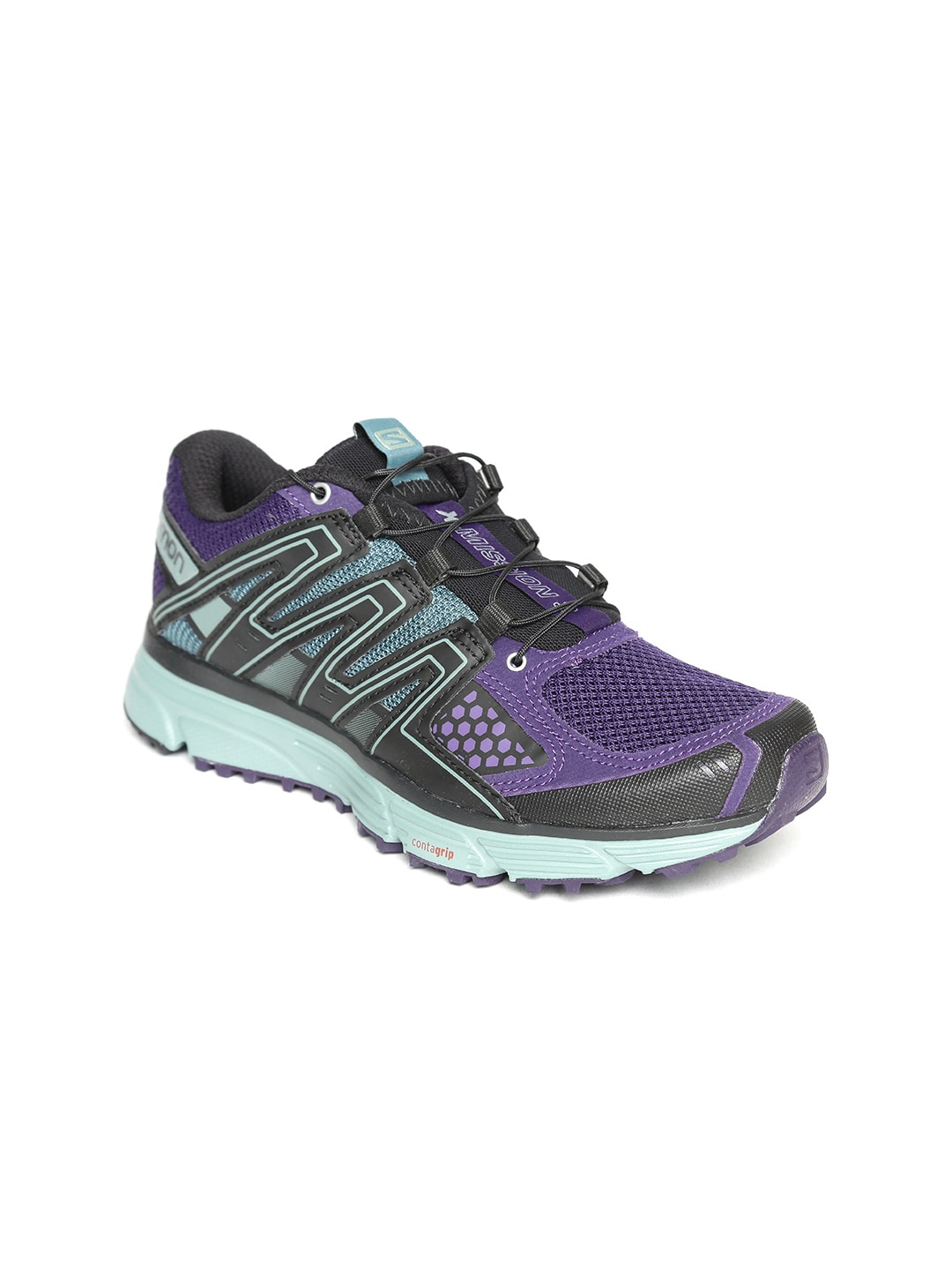 e6c4e9ed Salomon Women Purple Running Shoes