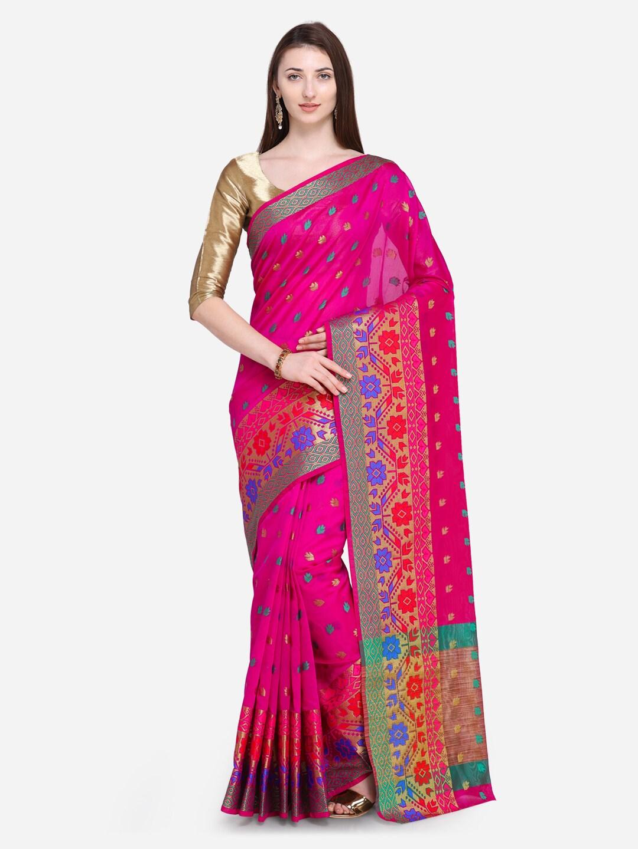 58d1440c44b Chanderi Sarees - Buy Chanderi Sarees Online in India