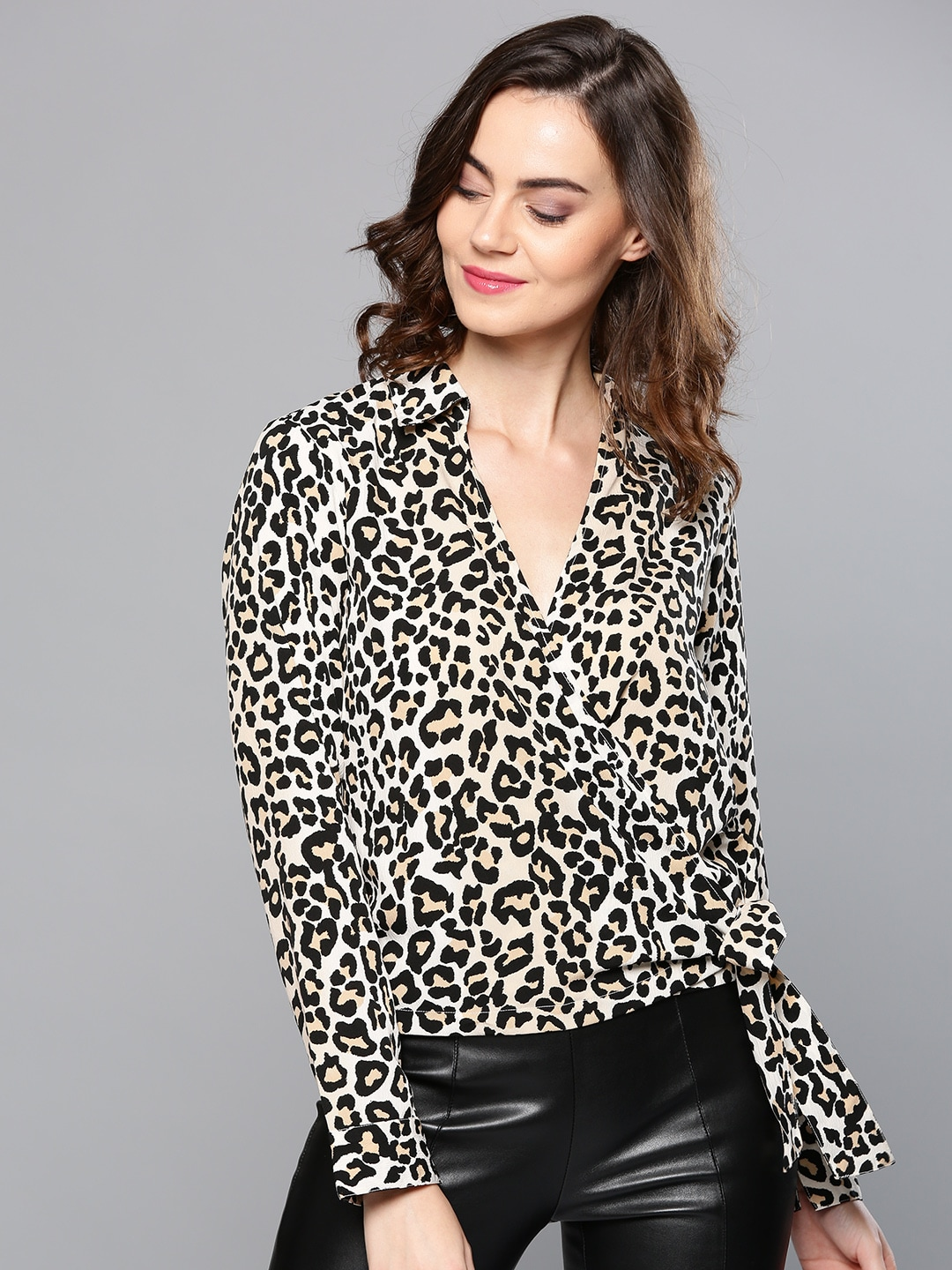 cfc21ee20ee60 Animal Print Tops For Women - Buy Animal Print Tops For Women online in  India
