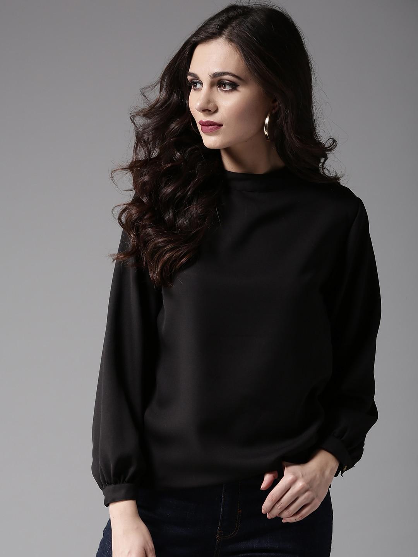 8c5882138ad Ladies Tops - Buy Tops & T-shirts for Women Online | Myntra