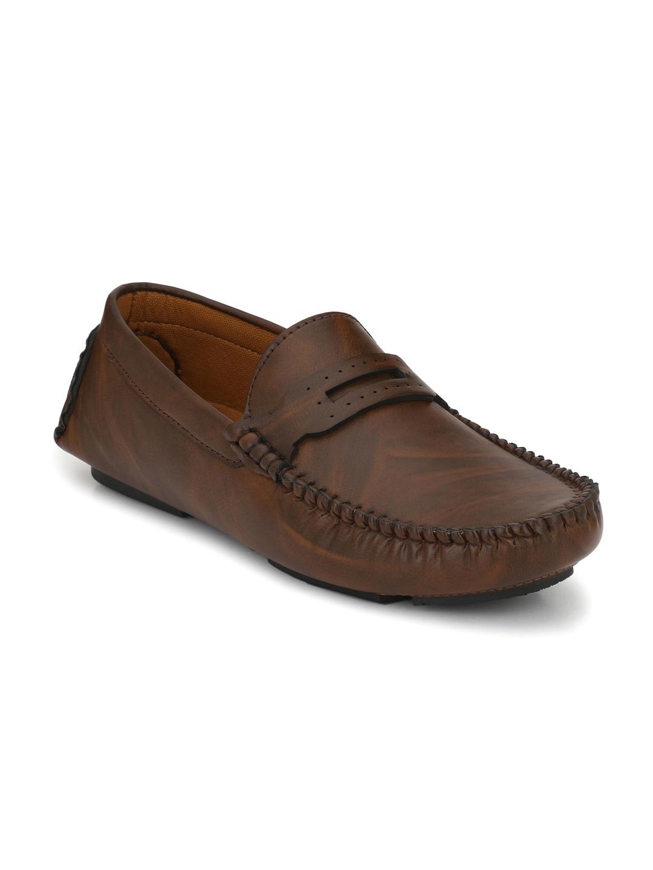 John Karsun Men Brown Loafers