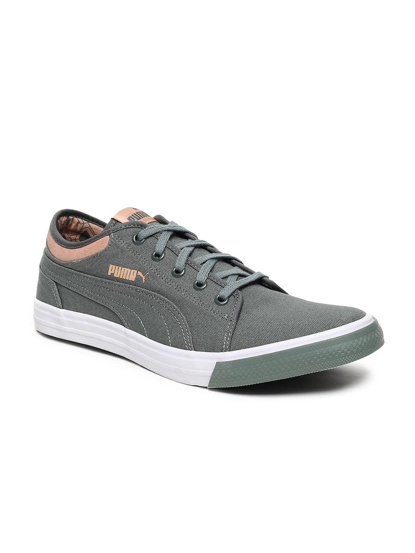 23804b0d Puma Unisex Green Yale Gum 2 IDP Sneakers