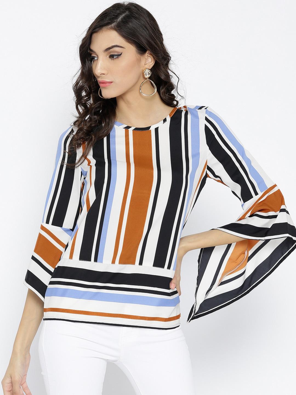 3655218c35ab28 Stalkbuylove Striped - Buy Stalkbuylove Striped online in India