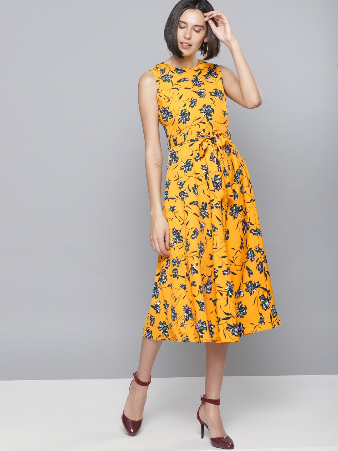 c691ca6a7fa2a Yellow Dresses - Buy Yellow Dresses online in India