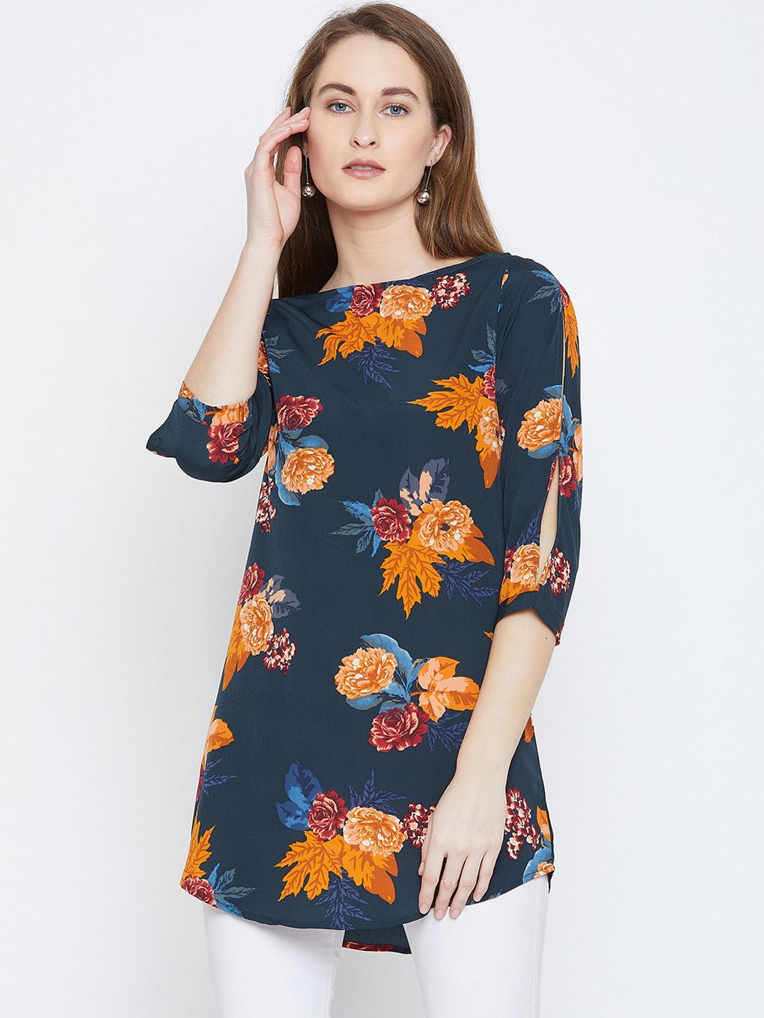 3d4ff76e6b93c6 Floral Tunics - Buy Floral Tunics online in India