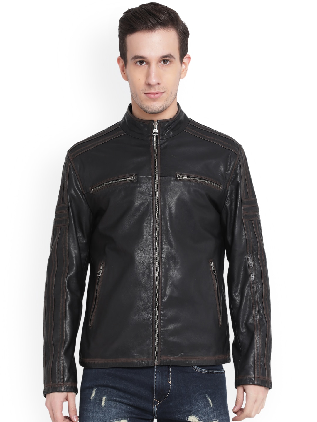 863d795e9 Justanned Leather Jackets - Buy Justanned Leather Jackets online in India