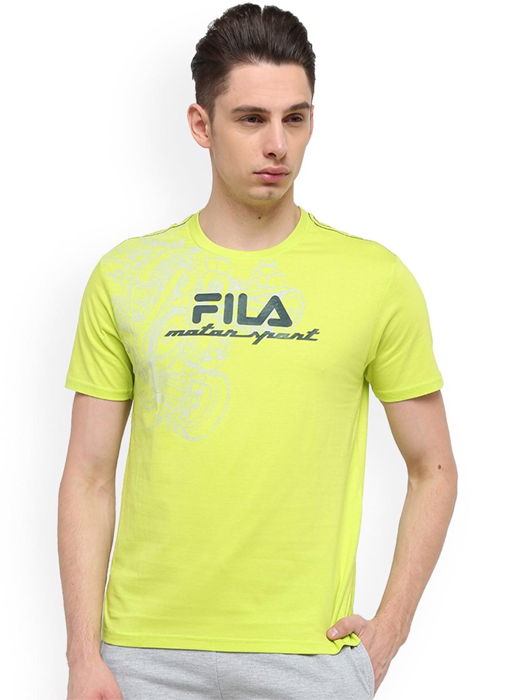 Fila T-shirt - Buy Fila T-shirts for Men   Women Online in India 03005c5673d2