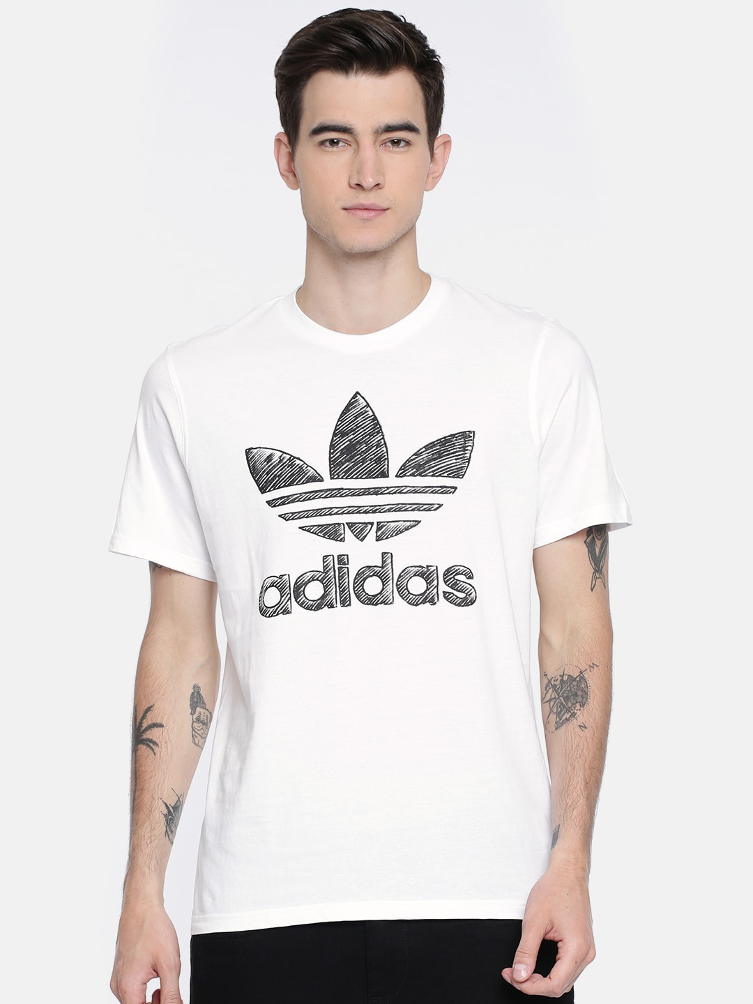 Adidas T-Shirts - Buy Adidas Tshirts Online in India  7e101ab6f42b3