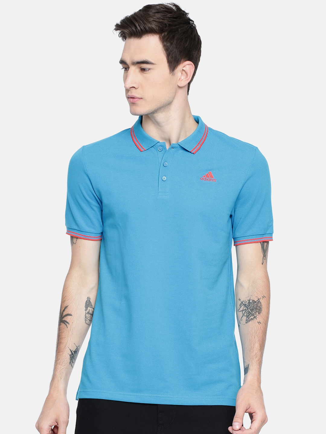 new concept 6bc53 52586 Source · Adidas T Shirts Buy Adidas Tshirts Online in India Myntra