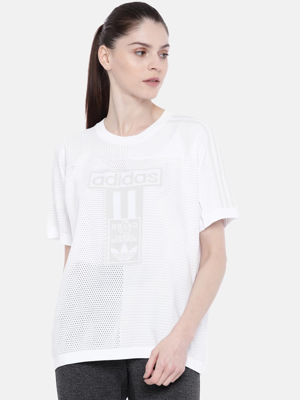 52356b0c20e7d Tshirt Adidas Women - Buy Tshirt Adidas Women online in India