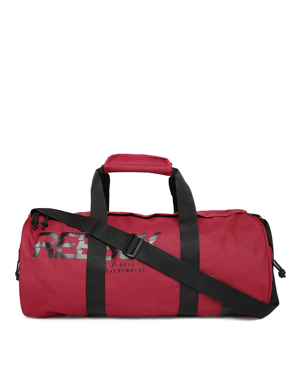 f5f4b6ff Reebok Unisex Red Printed Duffel Bag