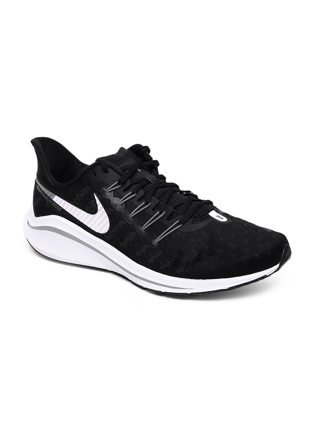 bas prix 14dfa 9fa20 Nike Men Black Air Zoom Vomero 14 Running Shoes