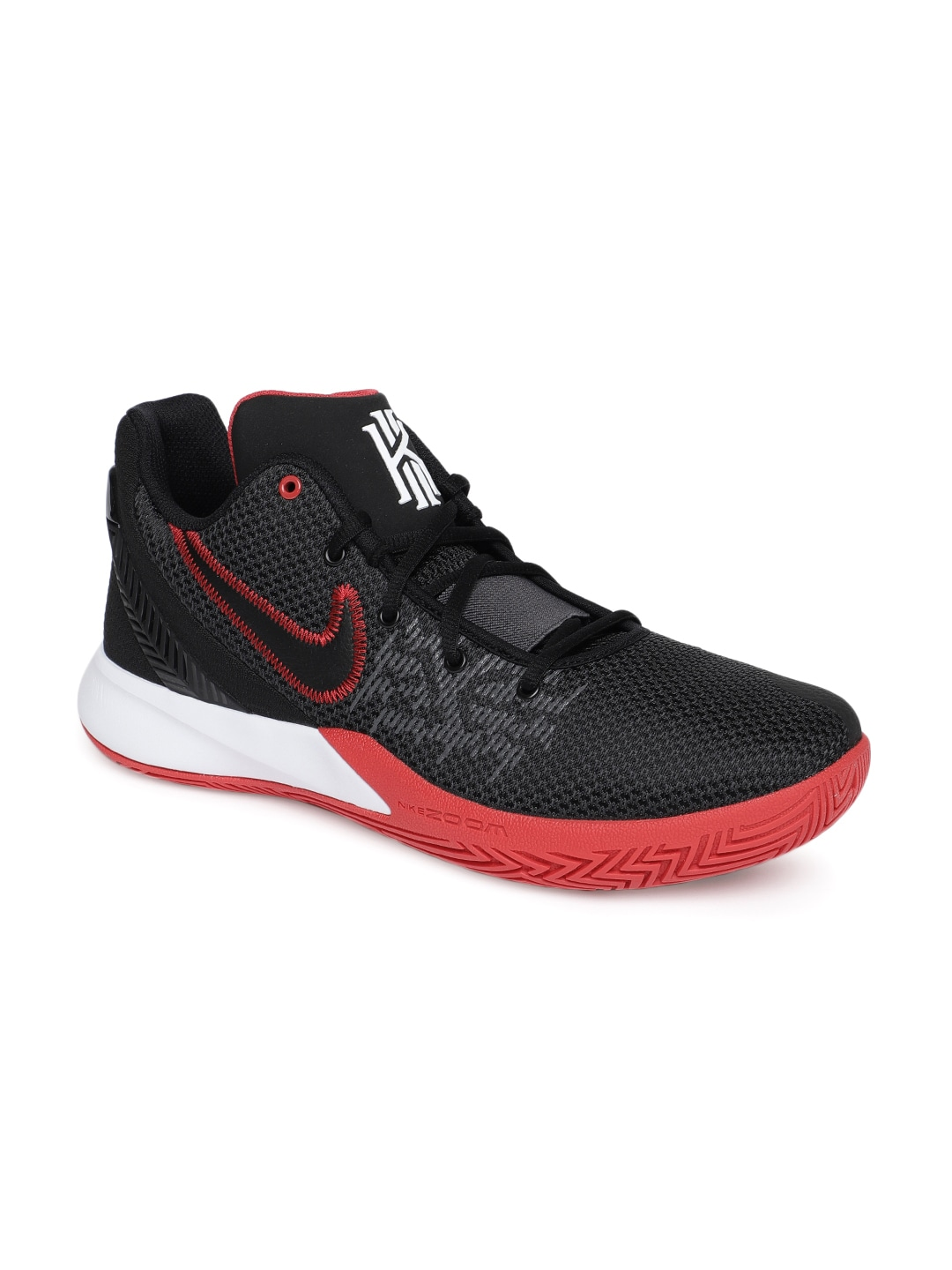 4398a3cb329 Nike Men Black Kyrie Flytrap II Basketball Shoes