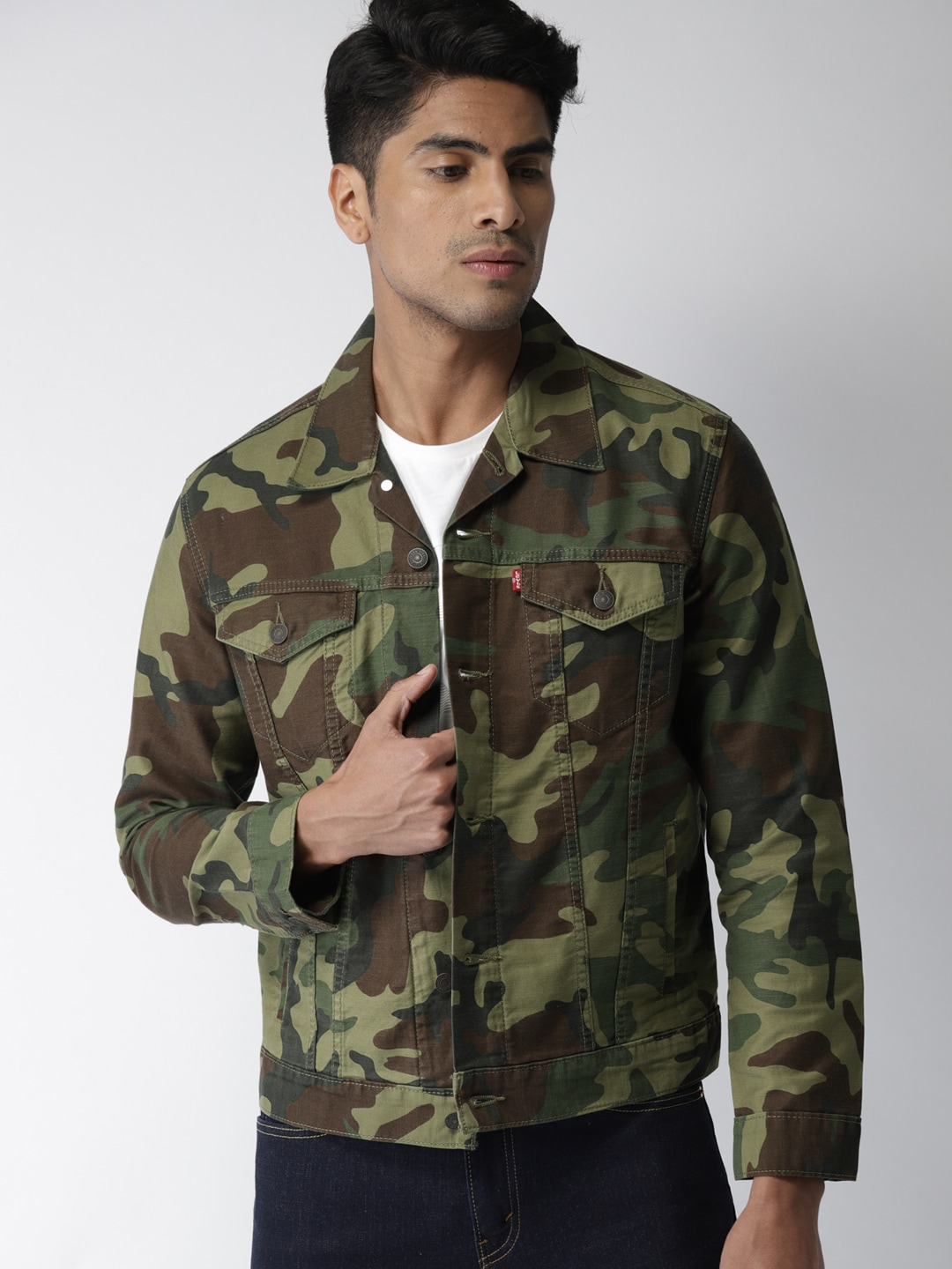 e976fbe596367 Olive Green Jackets - Buy Olive Green Jackets online in India
