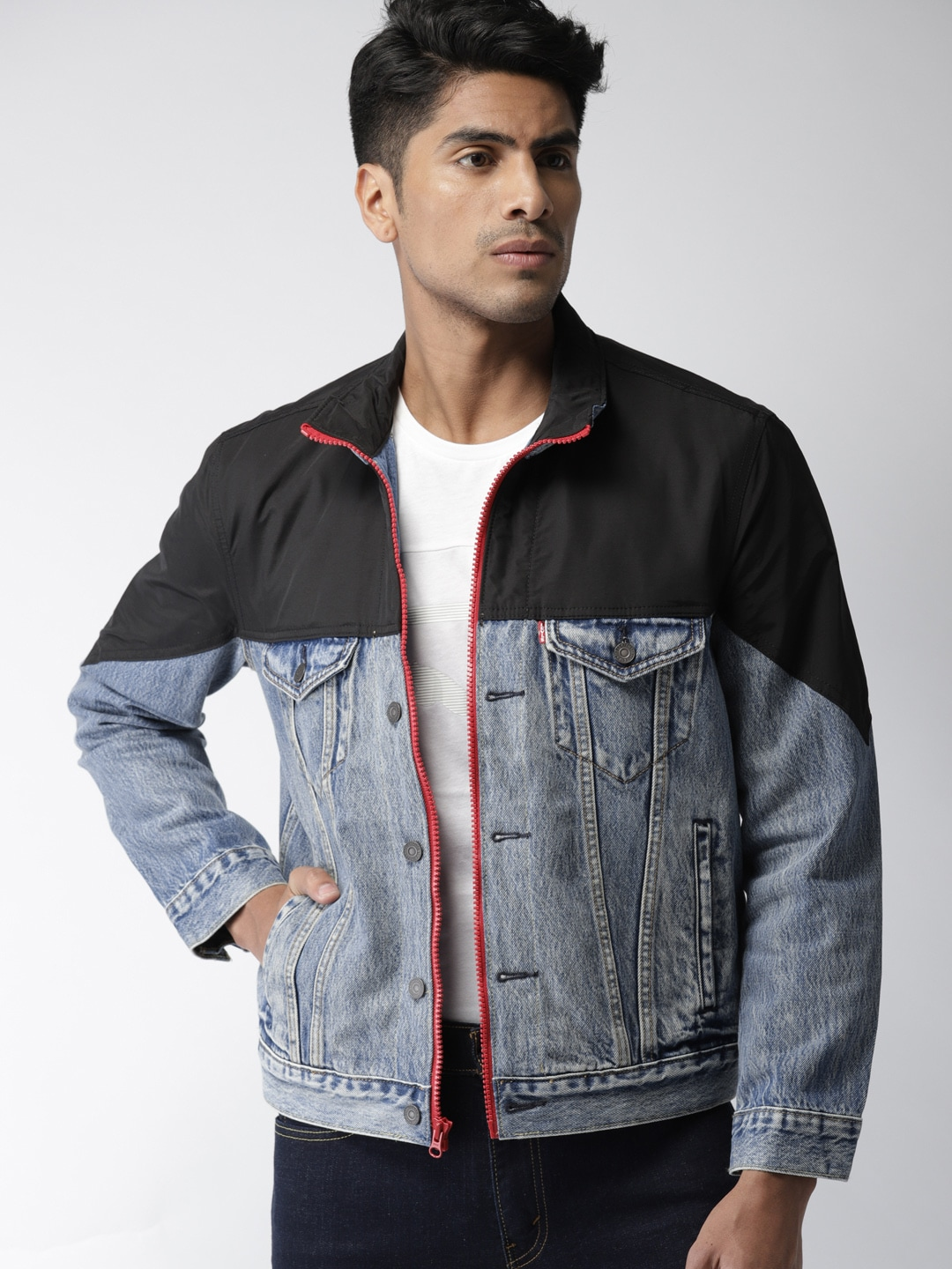 846717ecd45 Blue Denim Jackets - Buy Blue Denim Jackets online in India