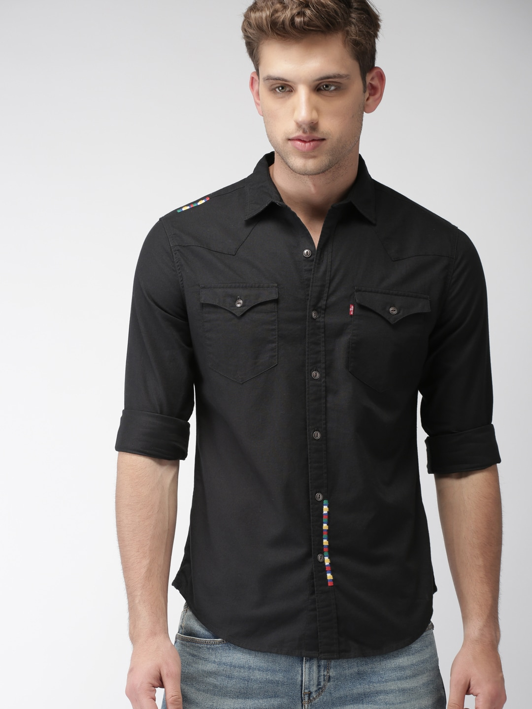 05095d2df1 Levis Denim Shirts - Buy Levis Denim Shirts online in India