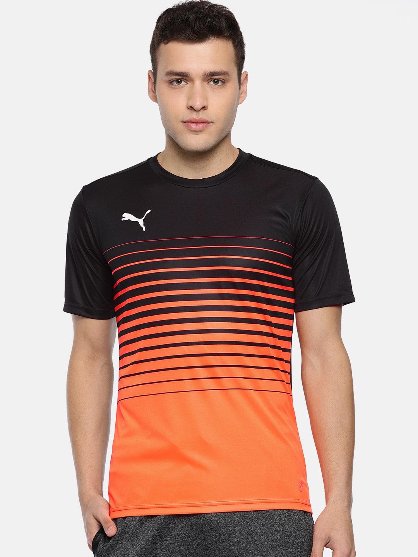 dfef6c7136805 4e2a68bc-c786-47c0-9363-d7d2e3446a361546931882226-Puma-Men-Orange-Striped-ftblPLAY-Round- Neck-T-shirt-74315469-1.jpg