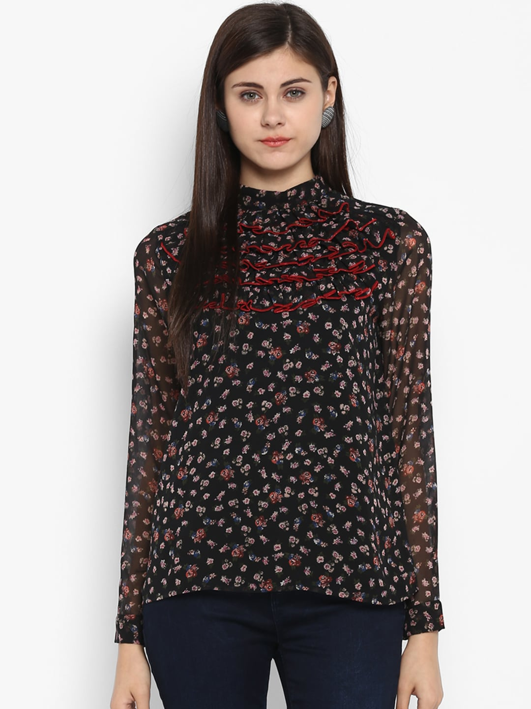 0dc8981209d63 Sequin Tops - Buy Sequin Tops online in India