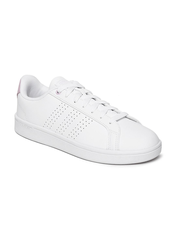 shopping adidas white casual shoes 586bd a0022