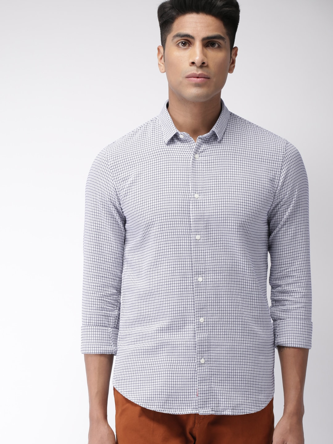 Cotton Shirts - Buy Cotton Shirt Online in India  320e708b0