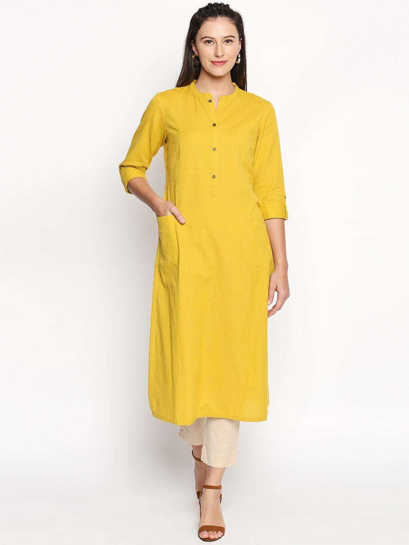 1e10fae28c0 Pantaloons Kurti%27s Churidar Kurta - Buy Pantaloons Kurti%27s Churidar  Kurta online in India