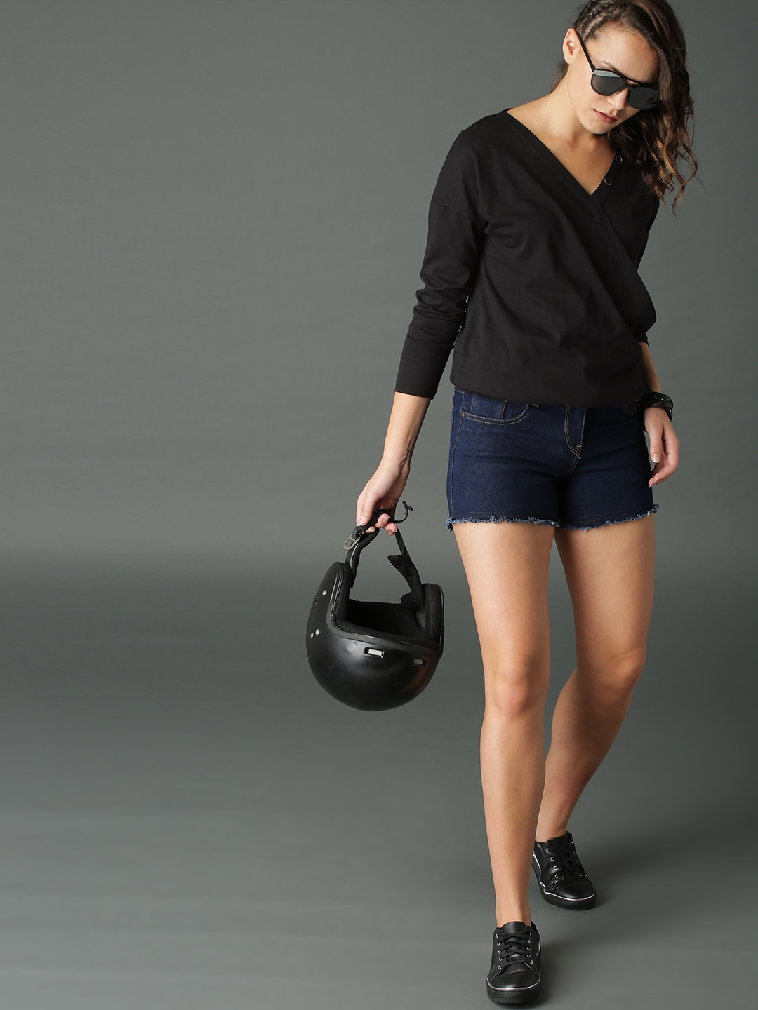 b5245af67645f Wrap Tops - Buy Wrap Tops online in India