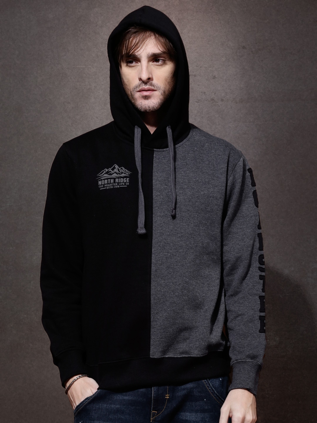 Roadster Sweatshirts - Buy Roadster Sweatshirts online in India 01d016adc13e