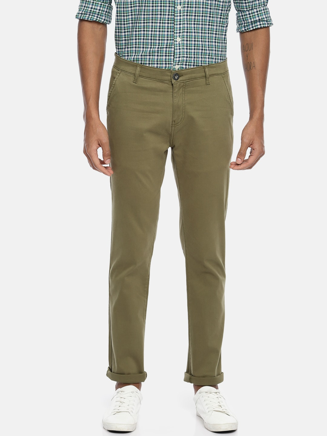 d2fcb27a180 Men Casual Trousers - Buy Casual Pants for Men in India - Myntra
