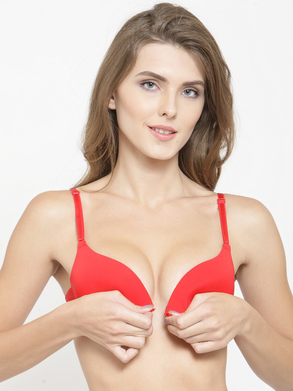 f387c1b01ba Red Bra - Buy Red Bra Online in India - Myntra