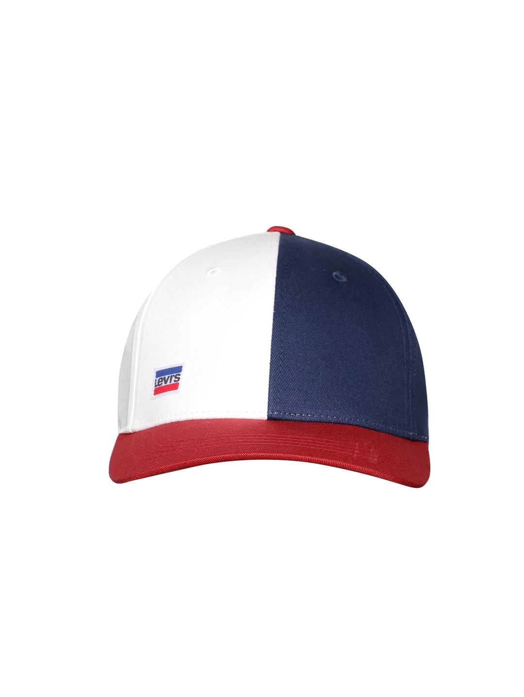 4f385ff73 Levis Unisex Blue & White Colourblocked Baseball Cap