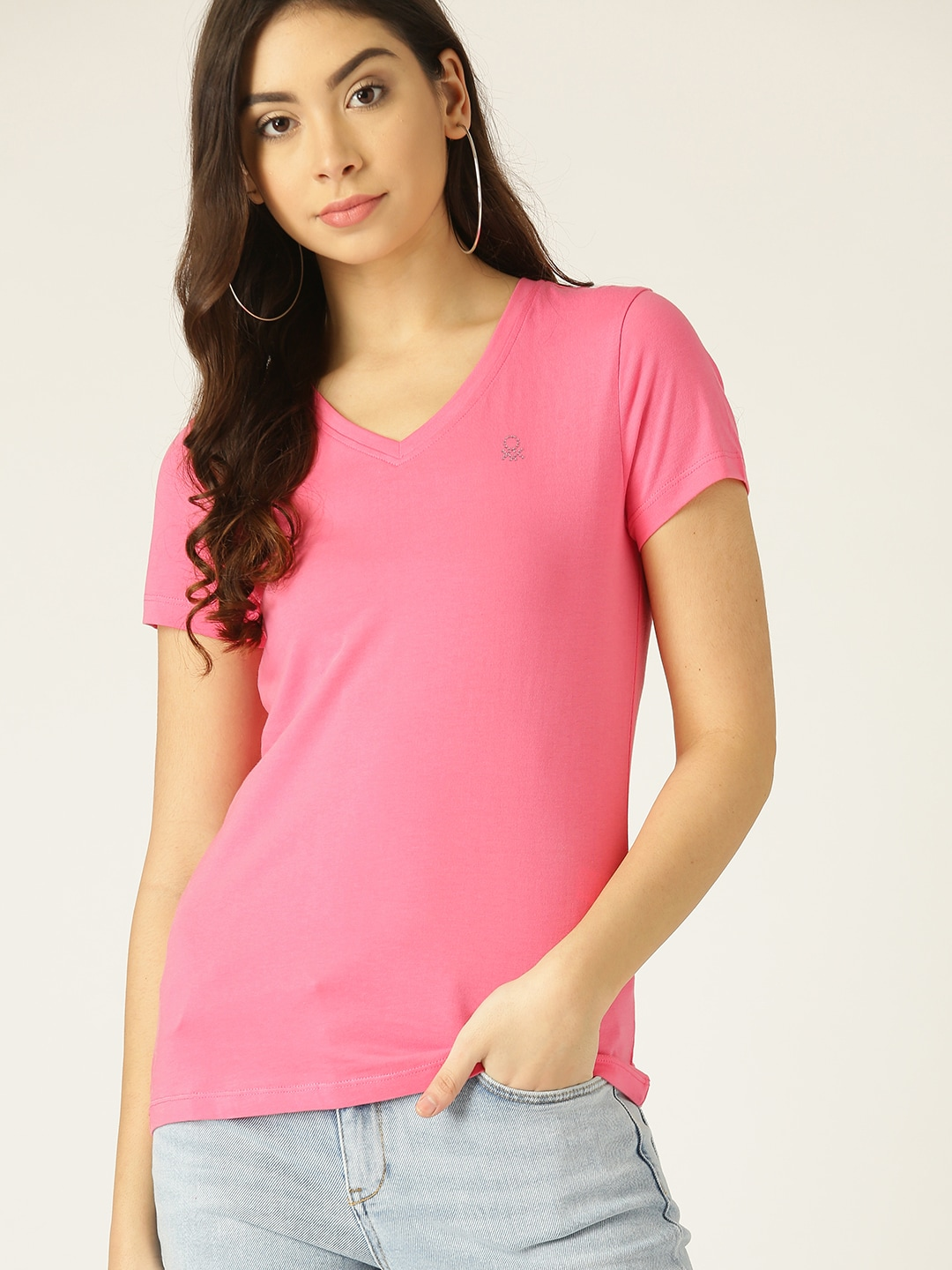 a97b341f3bc481 Ladies Tops - Buy Tops   T-shirts for Women Online
