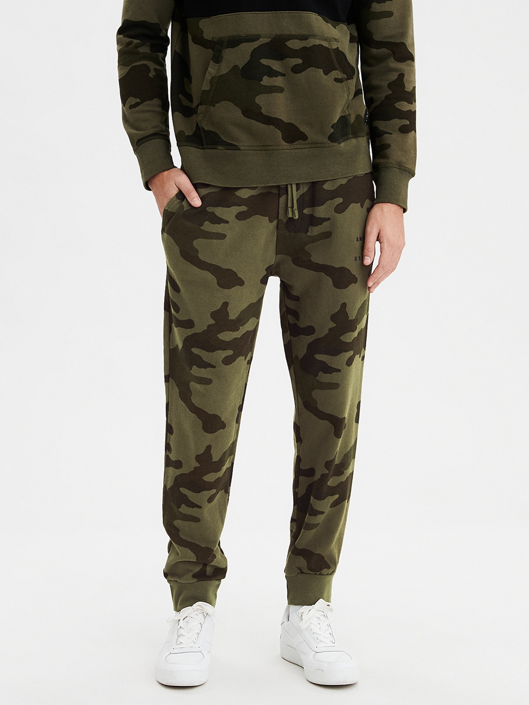 Shorts Men's Clothing New American Eagle Mens #5590 Black Straight Leg Casual Sweat Pant Shorts Size S