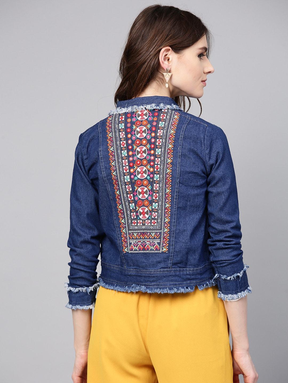 127b73edc99520 Denim Jacket For Women - Buy Denim Jacket For Women online in India