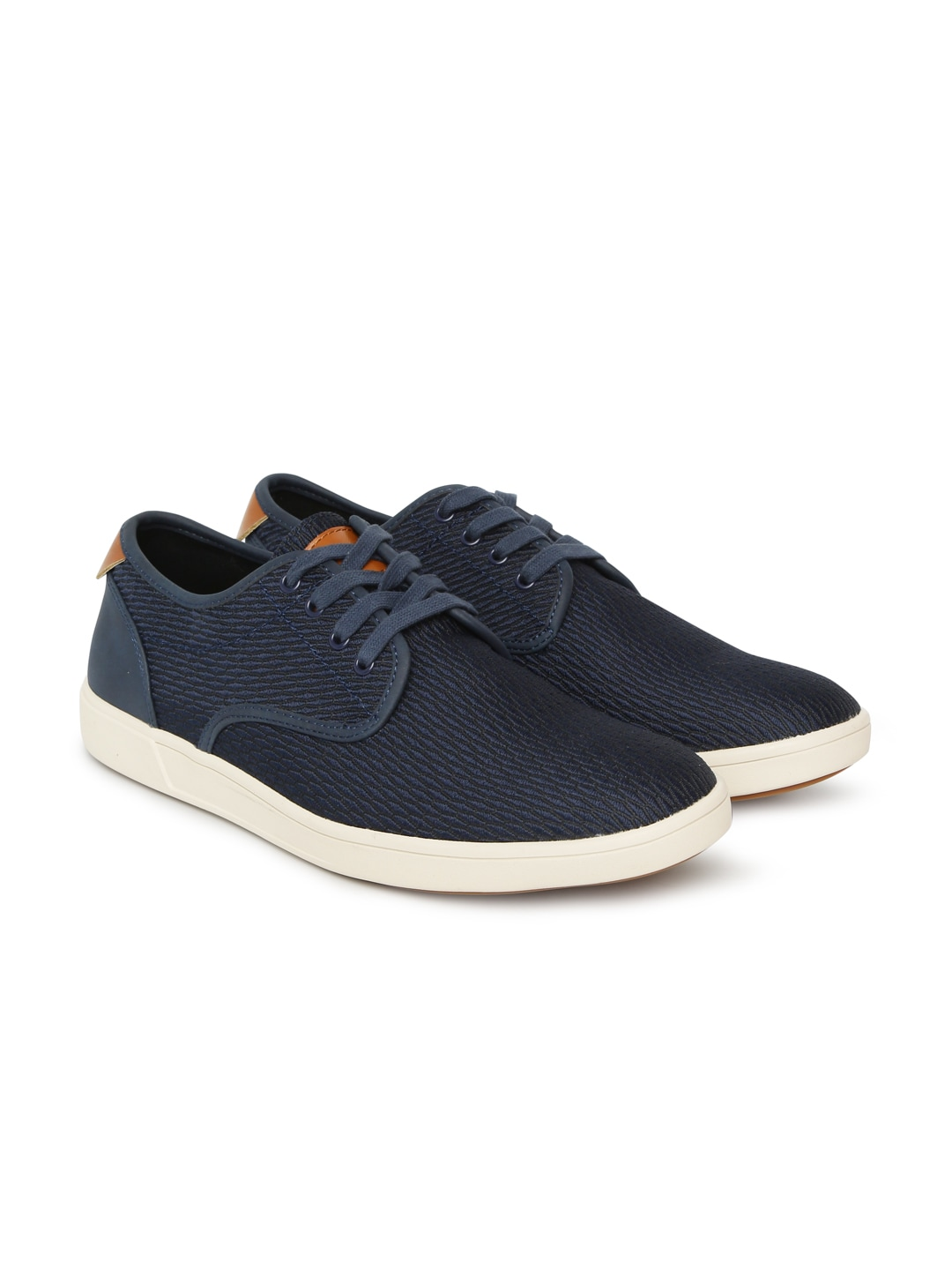 89ec6d9b9d2 Steve Madden Men Navy Blue Sneakers