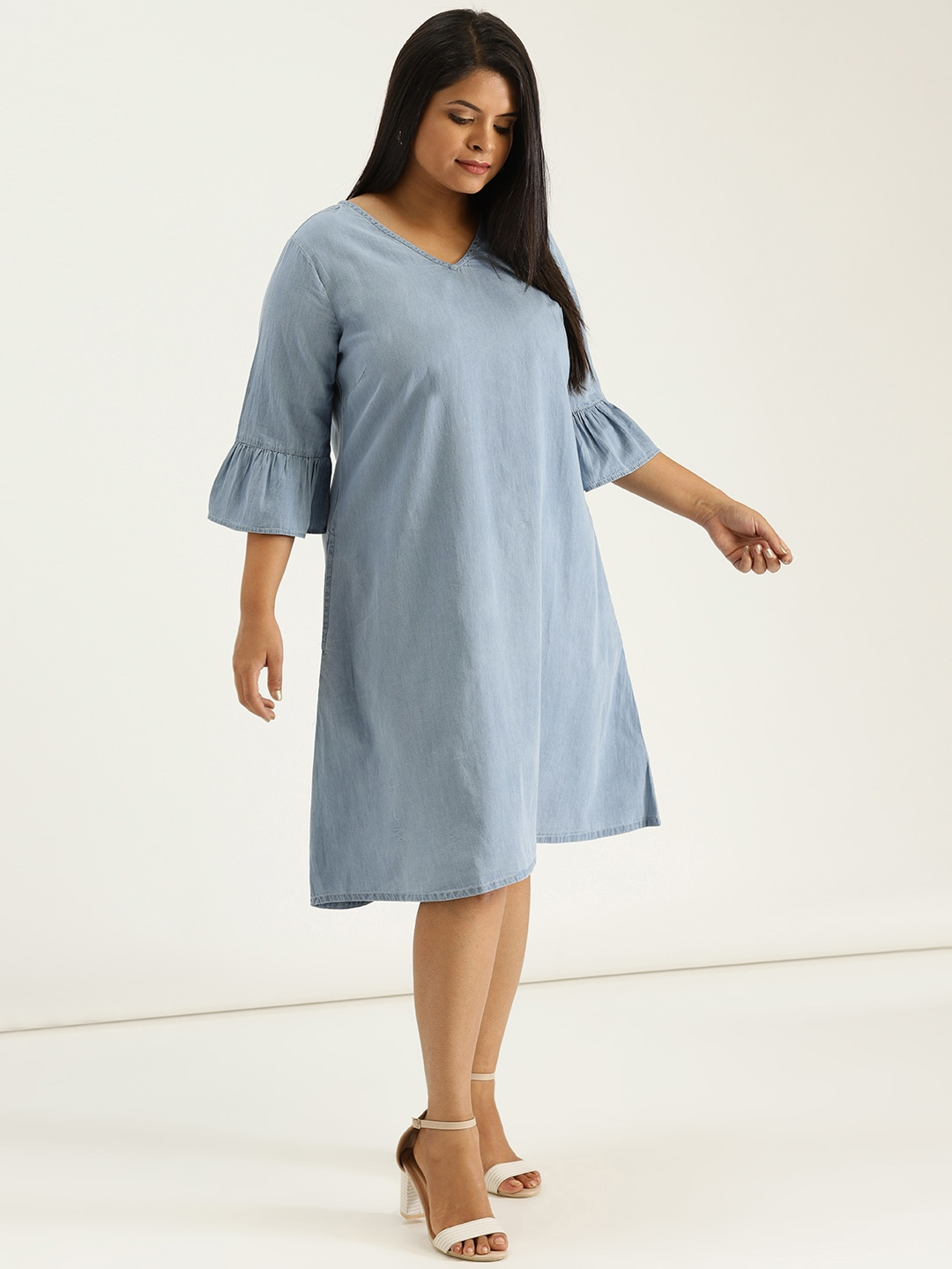 f09a27043e2 Denim Dresses - Buy Denim Dresses Online in India