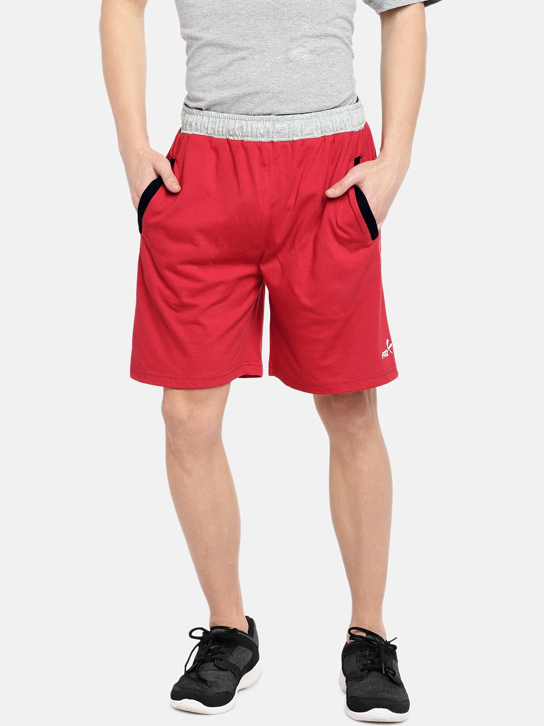 885ab4dc4eb7 Red Shorts - Buy Red Shorts Online in India