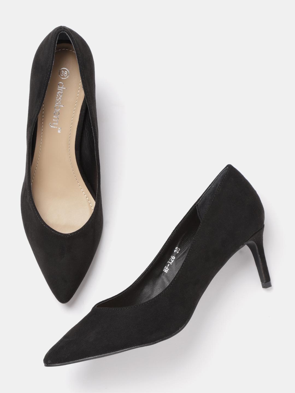 9a9f06dbed8 Black Heels - Buy Black Heels Online in India