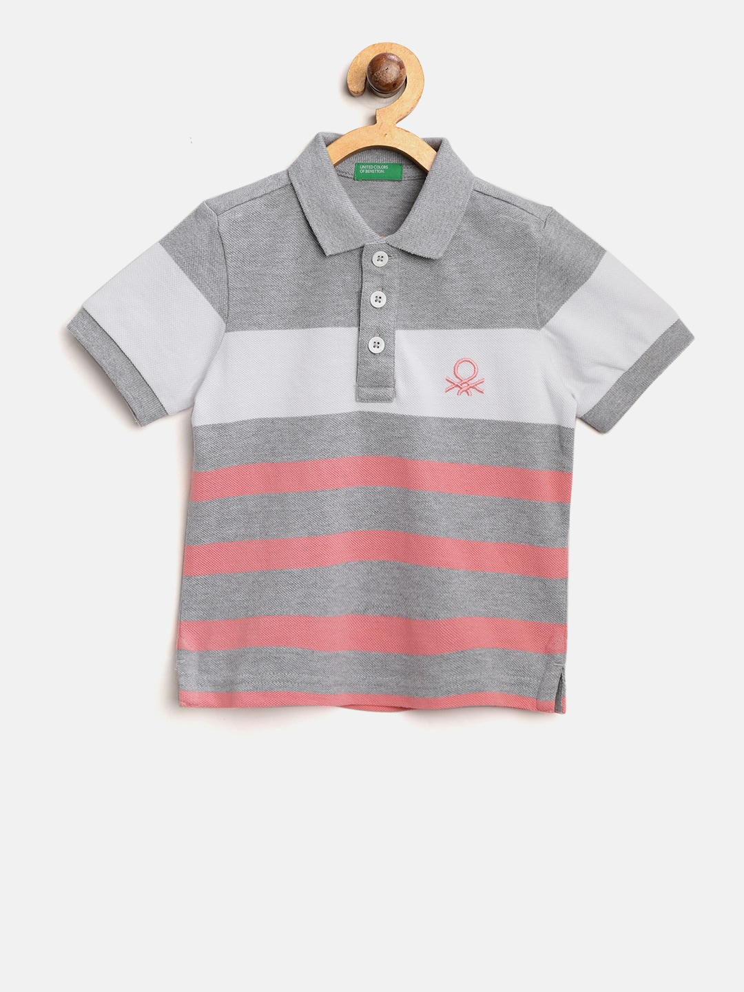 84d75f4e83edf Collar T-shirts - Buy Collared T-shirts Online | Myntra