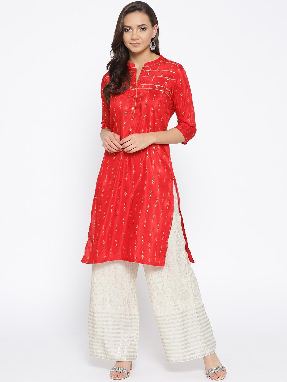 959f62e2c3c Kurtis Online - Buy Designer Kurtis   Suits for Women - Myntra