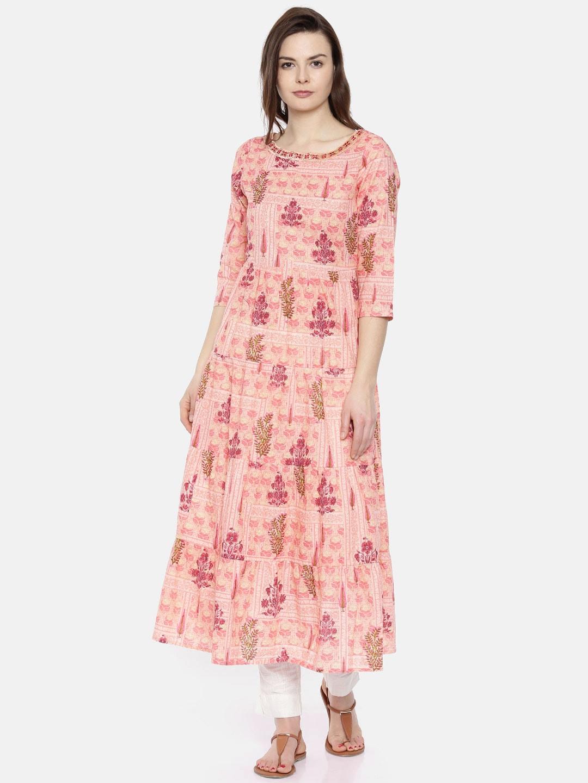 37ac93967bff6 Kurtis Online - Buy Designer Kurtis   Suits for Women - Myntra