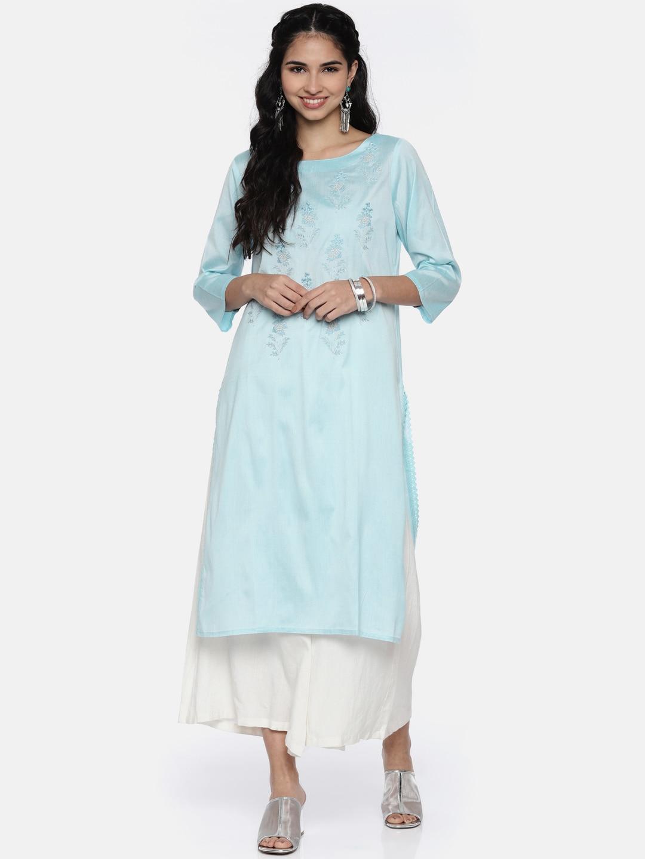 7b21f2585ee Kurtis Online - Buy Designer Kurtis   Suits for Women - Myntra