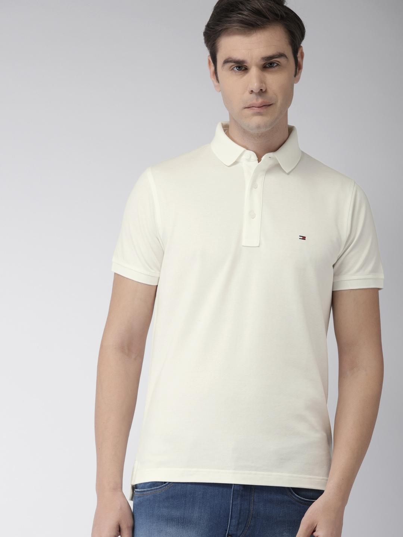 8a0f609f3ec396 White Tshirts - Buy White Tshirts Online in India