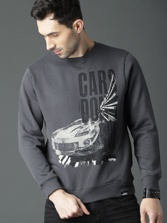 f9c1cb92f0c Sweatshirts   Hoodies - Buy Sweatshirts   Hoodies for Men   Women Online -  Myntra